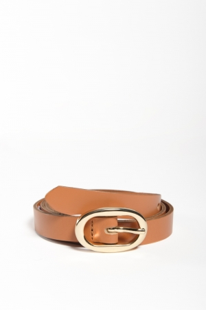 PCANA LEATHER JEANS BELT NOOS logo