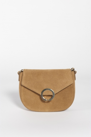PCAMI SUEDE CROSS BODY 239275 Toasted