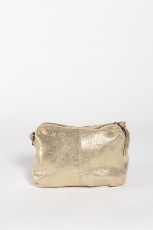 PCNAINA LEATHER CROSS OVER NOO 181871005 Gold